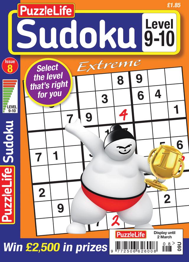 PuzzleLife Sudoku Extreme 9-10 – Puzzle Life